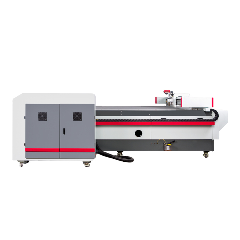 Automatic 2030 CNC Oscillating Knife Cutting Fabric Leather PVC Cutter Machines for Sale