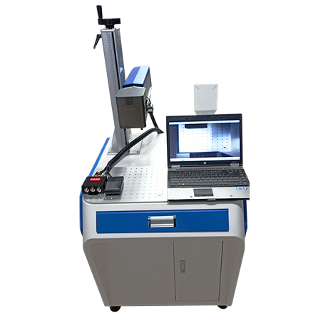 Fiber Laser Marking Machine with CCD Visual Automatic Positioning Function
