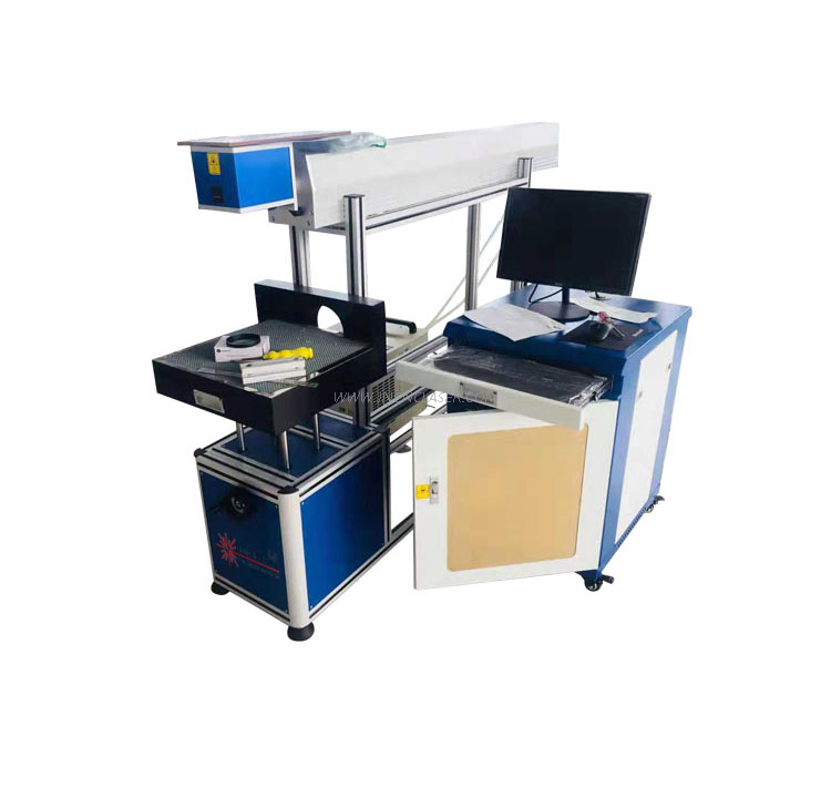 3D Dynamic focusing co2 laser marking machine with CE FDA