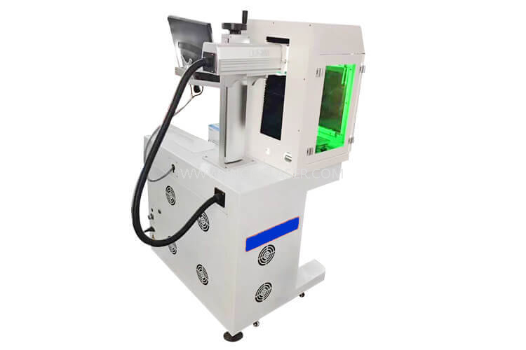 50 Watt Fiber Laser Deep Engraving Machine For Metal Engraving