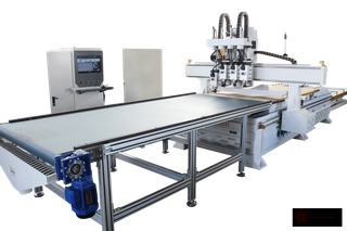 Nesting ATC CNC Router With Auto Loading Unloading System