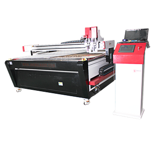 New Arrival Top Ranking SMARTECH Best Price CNC Oscillating Knife Cutting Machine For Carton Packaging Box Making