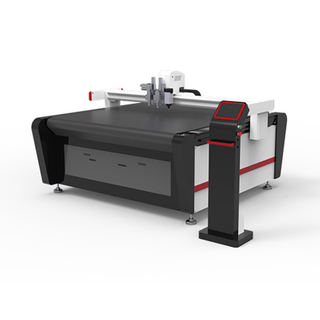 Multifunctional Double Heads CNC Vibrating Machine For KT Board Acrylic