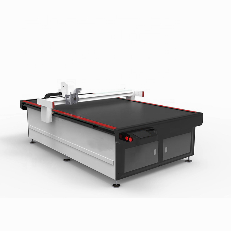 Cnc Oscillating Knife Cutting Machine for Leather/car Mat/carpet/pvc