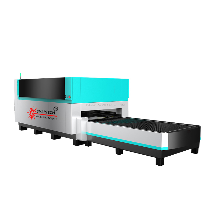4020 Metal Plate Laser Cutting Machine with Full Cover And Shuttle Table