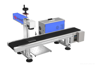 UV Laser Marking Machine with Conveyor