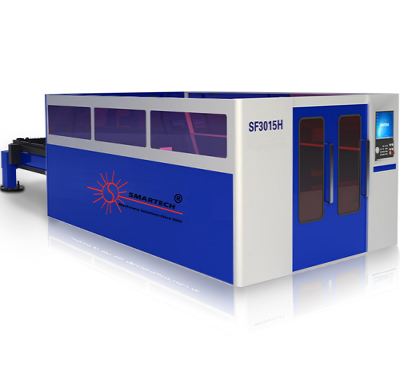 Full Cover Fiber Laser Cutting Machine For Metal Plate