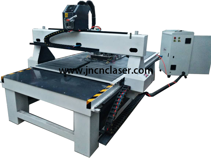 Double Heads CNC Router With Double Rotary Axis