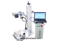 Desktop Portable Fiber Laser Marking Machine 20W/30W/50W Price