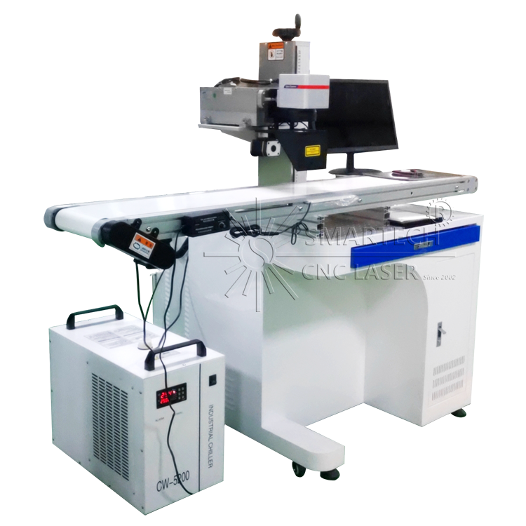 UV Laser Marking Machine with CCD Camera Auto Identifying & Positioning For Ultra Small Parts and Letters Marking