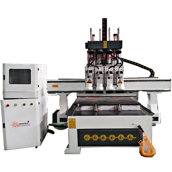 Pneumatic CNC Router For Woodworking Doors